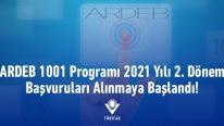 ARDEB-2021 Yılı 2. Dönem 1001 Projelerinin Başvuruları Alınmaya Başlandı
